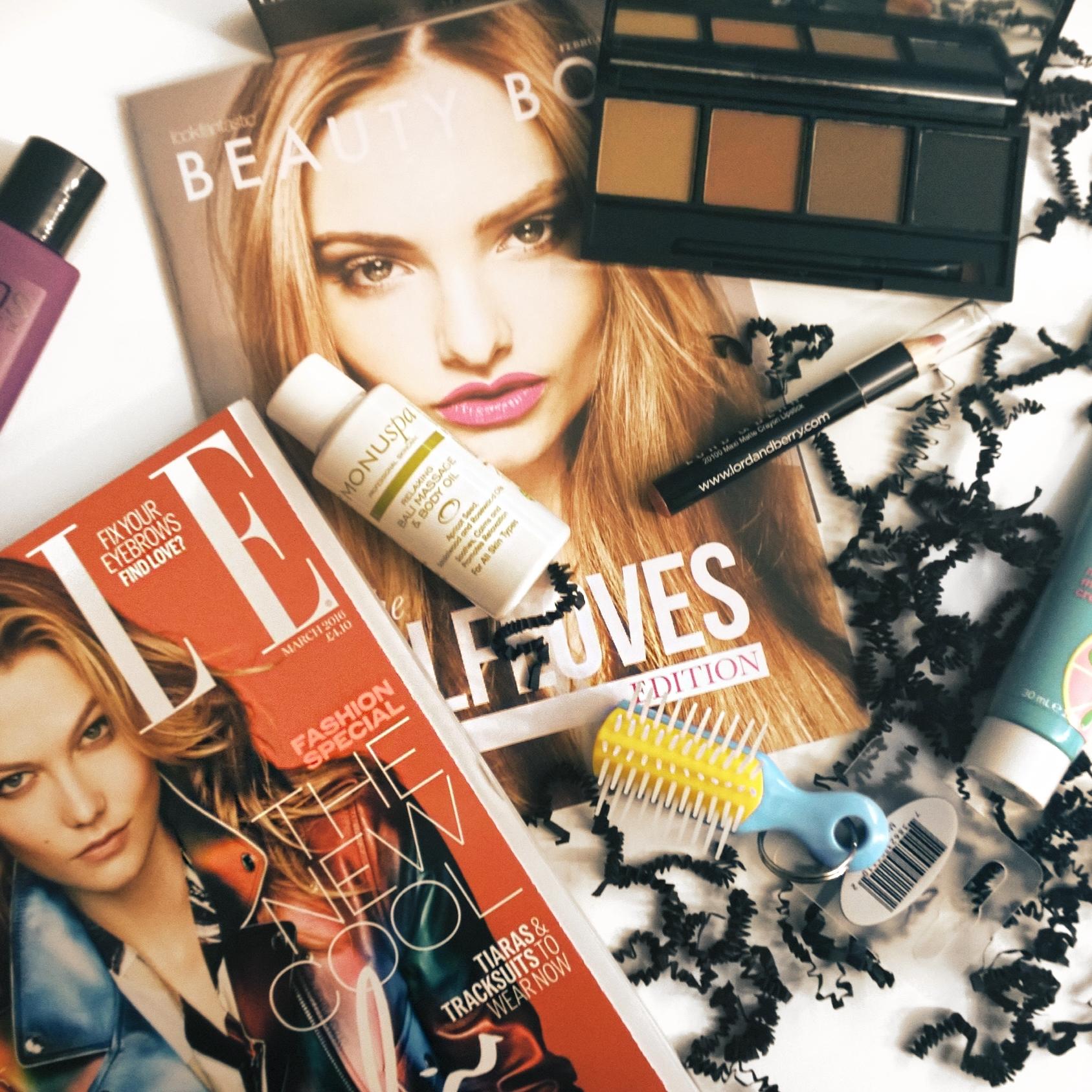 Lookfantastic Beauty Box Februar 2016 Inhalt #lfloves